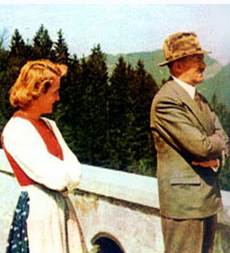 Married April 29, 1945 Eva Braun And Adolph Hitler