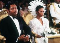 "Married May 27, 1980: Haitian Dictator Jean Claude Duvalier (""Baby Doc"") and Michelle Bennett"